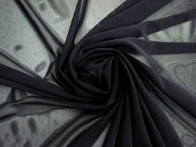 2-Way Stretch Mesh- Jet Black #4411