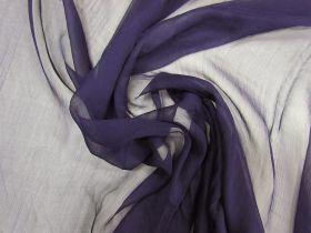 Yoryu Silk Chiffon- Enigma Purple #5889