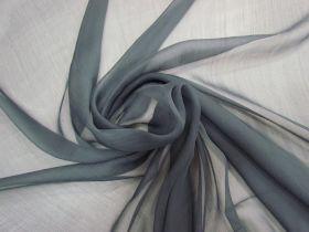 Yoryu Silk Chiffon- Cold Grey #5892