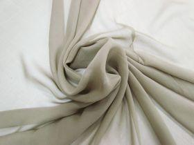 Silk Georgette- Worn Khaki #5894