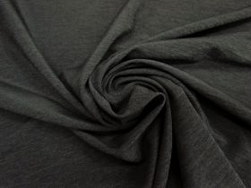 Double Knit Jersey- Textured Charcoal #4446