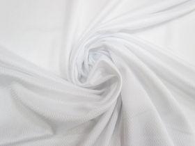 Sports Eyelet Knit- Shiny White #4453