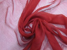 Silk Yoryu Chiffon- Poinsettia #5899