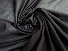 Silk Cotton Voile- Natural Black #5905