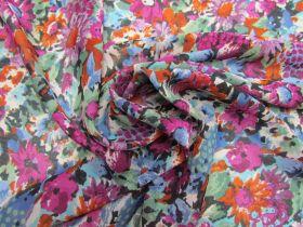 Floral Fantasy Viscose Georgette #5912