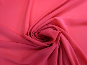 Crepe Georgette- Pink Punch #4463