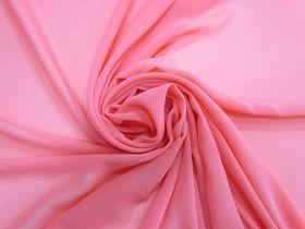 Lightweight Georgette- Snapdragon Pink #4465