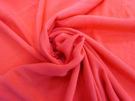 Viscose Crepe- Pink Papaya #4466