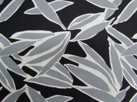 Shady Palms Cotton- Black #PW1139