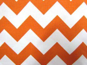 Medium Chevron- Orange