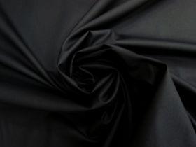 Smooth Cotton Poplin- Black #4479