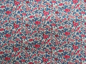 Liberty Cotton- Forget Me Not Blossom- Winter- Flower Show Winter Collection