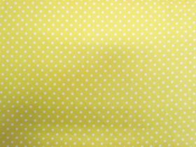 Simple Tiny Spot Cotton- Fresh Yellow #PW1012