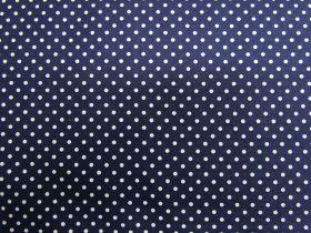 Simple Tiny Spot Cotton- Navy #PW1015