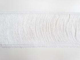 10cm Fringe- White #446
