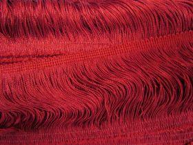 10cm Fringe- Ruby Red #463