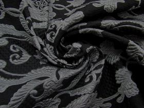 In The Family Brocade- Steel #4484