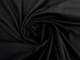 Cotton Spandex- Matte Black #4490