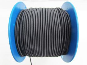 Jumbo Bungee Cord Elastic- Carbon Black #469