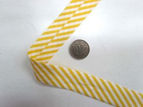 A Day In The Country Bias- Medium Stripe- Yellow