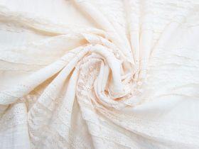 Sweet Escape Cotton Blend Lace- Soft Peach #4501