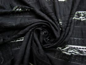 Sweet Escape Cotton Blend Lace- Black #4500