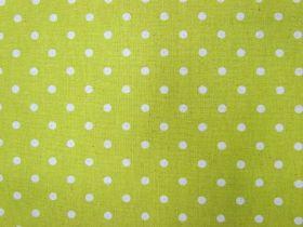 Linen Mochi Dot- Chartreuse