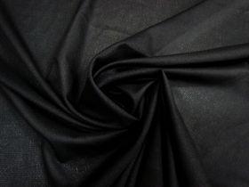 Light & Fusible Woven Interfacing- Black #4517