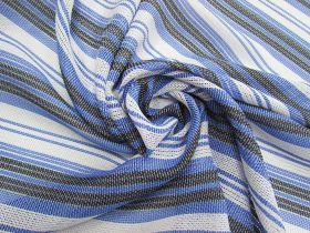 Blue Skies Stripe Mesh #4522