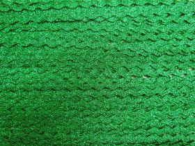 6mm Metallic Green Ric Rac Trim #191