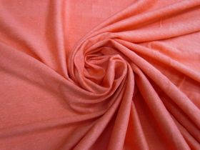 Linen Jersey- Bright Coral #4527