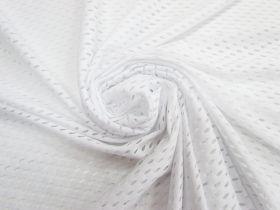 Large Eyelet Knit- White #4529