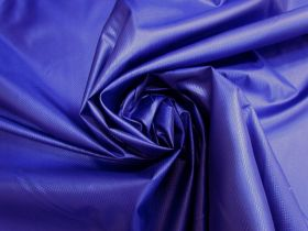 Diamond Water Resistant Polyester- Royal