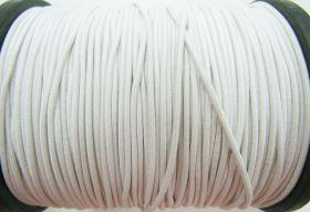 2mm Round Elastic- Off White #470