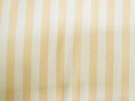 Staple Stripe Cotton- Banana Cream #DV303