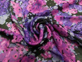 Violet Dreams Silk Chiffon #4557