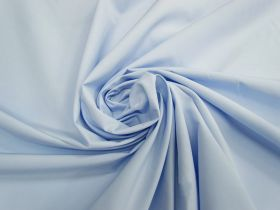 Smooth Cotton Blend Shirting- Airy Blue #4563