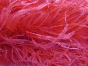 Feather Boa Trim- Fiesta Red #472