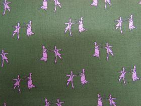 Folk Art Revolution Cotton- Line Dancing- Tradition