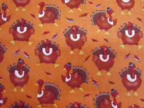 Thanksgiving Turkey Cotton #PW1051