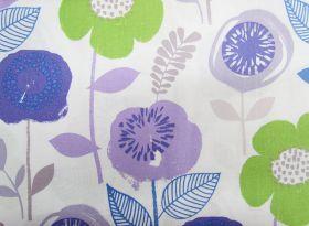 Funky & Fresh Cotton- Purple #PW1155