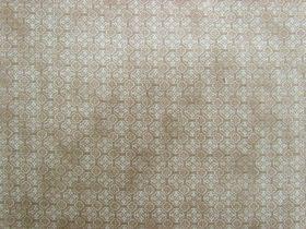 Ornate Tile Cotton- Stone Brown #PW1050