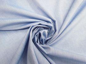 Lightweight Cotton Blend Chambray- Soft Blue #4611