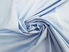 Cotton Blend Ottoman Shirting- Light Blue #4612