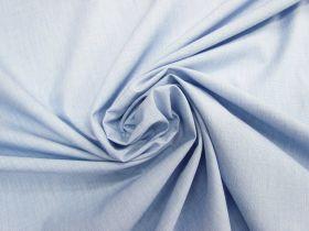 Light Cotton Blend Chambray- Cloudy Blue #4613
