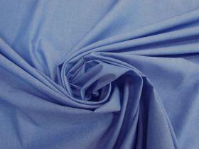 Soft Cotton Blend Chambray- Cornflower Blue #4614