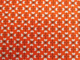 Ruby Star Society Cotton- Smol- Coeur De Fleur- Warm Red #18-14