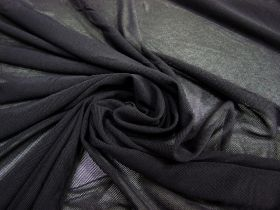 Soft Stretch Mesh- Dark Charcoal #2663