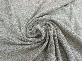 Boucle Knit- Cloudy Grey #4649