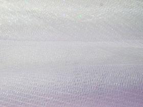 Metallic Net- White